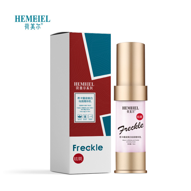 Купить с кэшбэком HEMEIEL Strong Powerful Whitening Freckle Cream Fade Melanin Removal Chloasma Pigment Age Spots Lightening Skin Care Face Cream