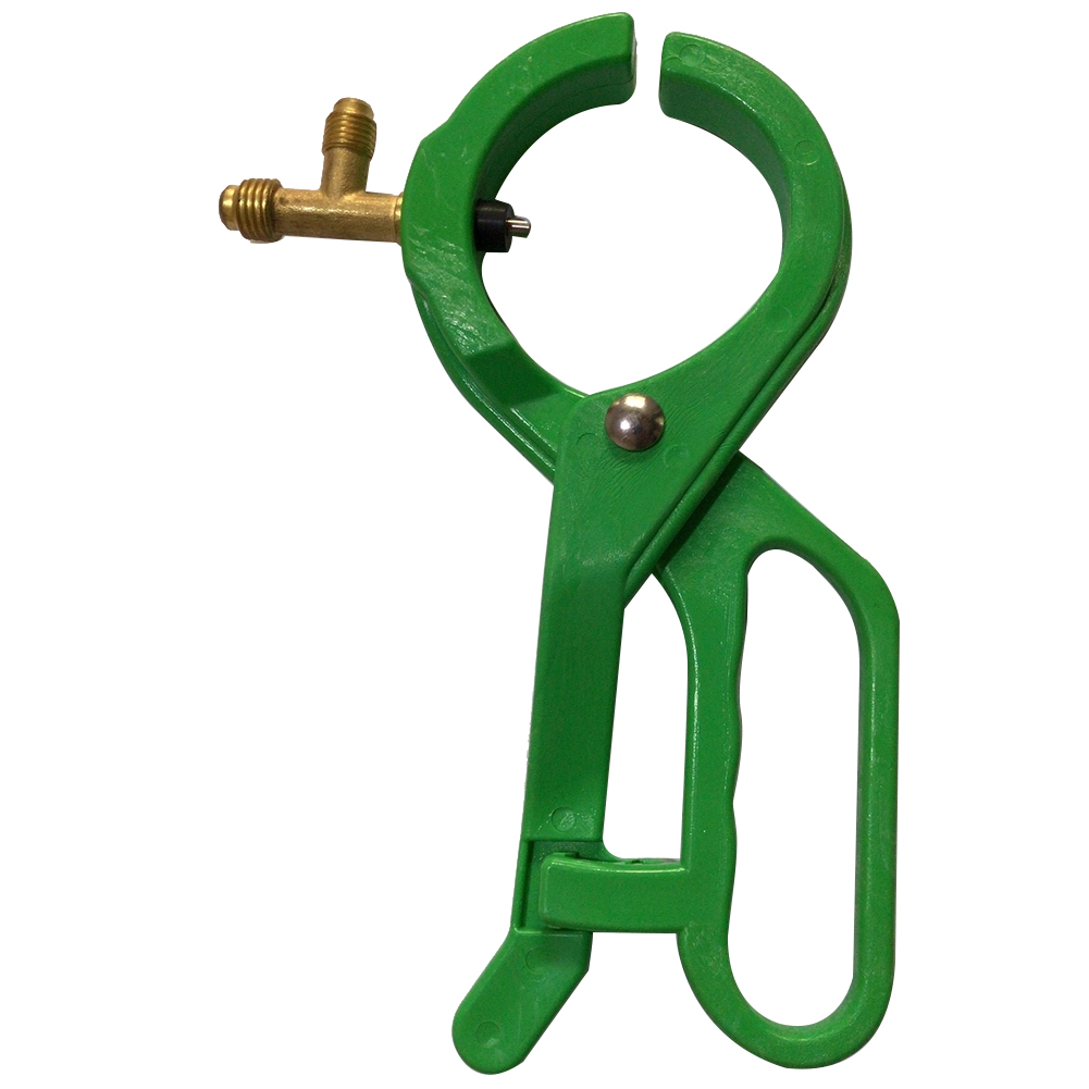 Air Conditioning Accessories Opener AB Aperture <font><b>Can</b></font> Tap <font><b>Refrigerant</b></font> Bottle Auto Car Tool 2 In 1 Side Punch For <font><b>R134A</b></font> R22 R12 image