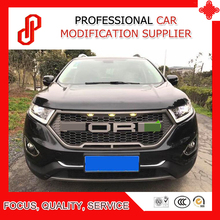 цена на High quality Modificate ABS car front grille racing grills grill for Edge Front grille 2015 2016 2017 2018