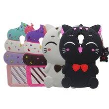 For Meizu M5 M5S Hot 3D Silicon unicorn Cat Cupcake Cartoon