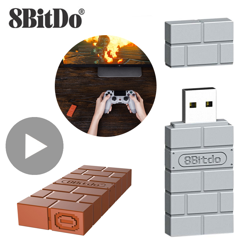 8bitdo Accessories For Nintendo Switch Sony Playstation 5 4 PS5 PS4 Pro Slim Xbox One Series X S USB Wireless Bluetooth Adapter 1