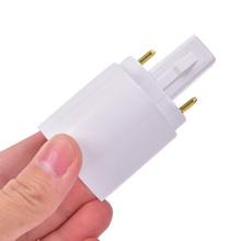 1 sztuka G23 do E27 E26 podstawa gniazda LED żarówka halogenowa Adapter lampy konwerter tanie tanio HUXUAN CN (pochodzenie) G23 To E27 E26 Base Socket