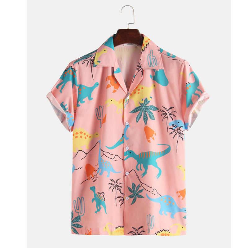Envío Gratis Camisa De Manga Corta Para Hombre Camisas Florales Ropa De Hombre