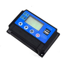 Auto-Charger-Regulator Auto-Solar-Cell-Panel Charge-Controller 12V PWM 0 Lcd-Display