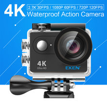 H9 H9R Ultra HD 4K sports Action Camera 30m waterproof 2.0' Screen 1080p sport Camera go extreme pro cam with remote controler(China)