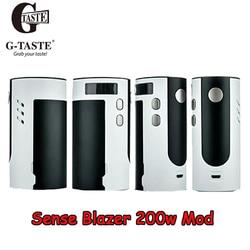 Apuramento!! G-sentido gosto Blazer 200W Box Mod alimentado por triple 18650 baterias Porta MicroUSB 510 fio Mod E cigarro