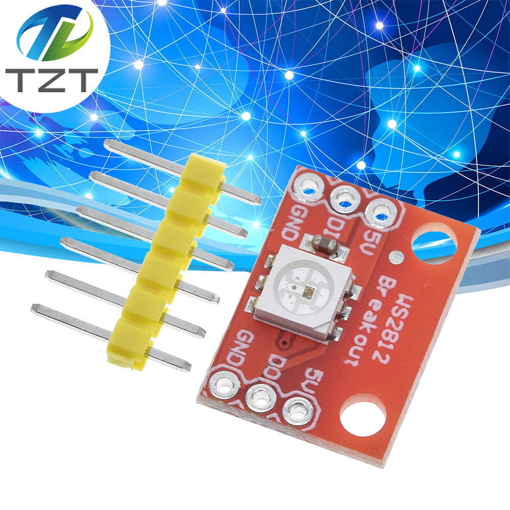 10mm Full Color RGB LED Driver Breakout Module Shield for Arduino 5V