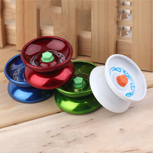 Hot! Random Color Alloy Yoyo Professional High Performance Speed Cool Alloy Yoyo Leisurely Walk Ball Children Games New Sale new arrive yoyo garden quantum tunneling yoyo first outer ring professional metal yoyo competition new technology yoyo
