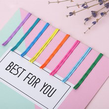Hot 10Pcs/lot Hairpins For Girls Candy/Rainbow /Macaron Color Durable Hair Clips Barrettes Childern/ Women Accessories