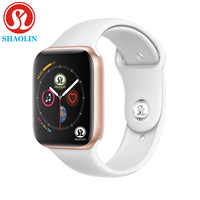 Bluetooth Smart Uhr 1:1 SmartWatch Männer Frauen 42mm Fall für Apple uhr iOS Android Herzfrequenz EKG Schrittzähler Schlaf tracker
