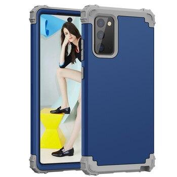 3 in 1 Antiurto Protegge La Cassa Per Samsung Galaxy Note 20 Ultra Hybrid Duro di Gomma Impact Armatura Casse Del Telefono per galaxy Note 20