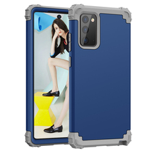 3 in 1 Shockproof Protect Case For Samsung Galaxy Note 20 Ultra Hybrid Hard Rubber Impact Armor Phone Cases for Galaxy Note 20