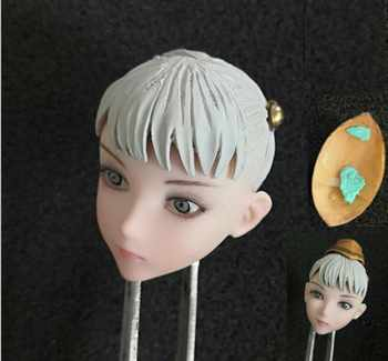 Anime Cute Girl 1/6 Beauty Little Loli Head Sculpt Model PVC female Head Carved Fit 12\'\' Figure body PH Toy - DISCOUNT ITEM  26 OFF Toys & Hobbies