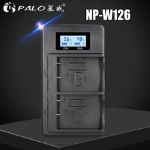 NP-W126S NP-W126 LCD USB Charger for Fujifil Fuji NP W126 Battery X-T3 XA5 XT20 XT2 XT1 XT100 XH1 XT10 XE3 X100F X-PRO2