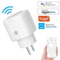 Wireless WiFi Smart Plug EU US UK adattatore telecomando Voice Control Power Energy Monitor presa Timer presa per Alexa Google Home