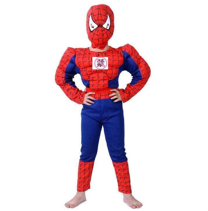 New Arrival Halloween Costumes Sets Cosplay Stage Wear Clothing Muscle Children Kids Carnival Party Movie Clothes