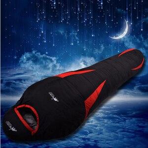 Image 3 - Ultralight Down Sport Sleeping Bags Outdoor Camping Hiking Traveling Duck Down Adult Mummy Waterproof  Winter Sleeping Bags