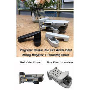 Image 5 - 1 סט מדחף לתקן מחזיק להב מנוע Fixer תיקון רצועת מגן כיסוי מייצב עבור DJI Mavic מיני Drone אבזרים