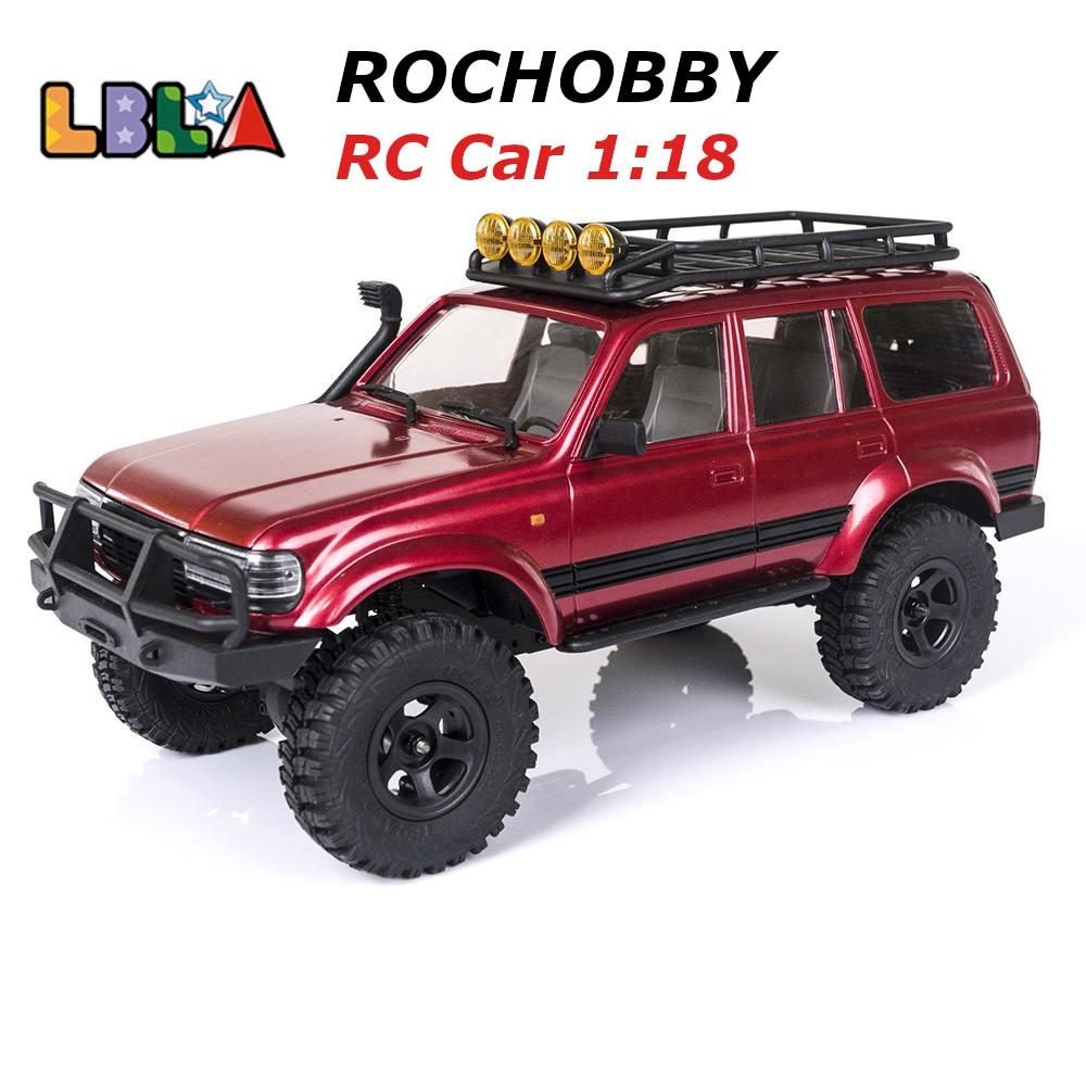 Машинка ROCHOBBY на радиоуправлении, 1:18, 2,4 ГГц, катана, водонепроницаемый гусеничный автомобиль с дистанционным управлением, модели внедорожни...