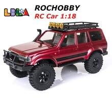 Rochobby rc carro 1:18 2.4ghz katana rastreador impermeável carro de controle remoto veículo fora da estrada modelos rtr brinquedos para crianças