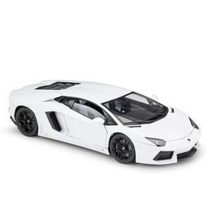 Image 5 - Welly diecast 1:18 높은 시뮬레이터 모델 자동차 람보르기니 aventador lp700 금속 레이싱 자동차 합금 완구 어린이 선물 컬렉션