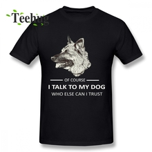 Latest For Man Belgian Malinois T Shirt DOG Homme Tee Geek Top Design Round Collar Male SHIRT