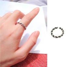 Новинка 2021 простое кольцо с пятиконечной звездой в стиле ретро