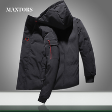 Warm Casual Jacket Men Windbreaker 2020 New Hooded Parkas Coats Thicken Men's Fashion Street Outdoor Down Jackets High Quality