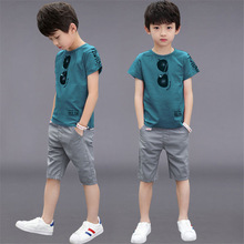 Teen Boys Clothing Sets Summer Boys Clothes Casual Outfit Kids Tracksuit For Boys Sport Suit
