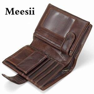 Meesii Genuine Leather Passpor