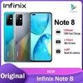 Смартфон Infinix Note 8 глобальная версия 6 ГБ 128 ГБ 6,95 дюйма HD + дисплей аккумулятор 5200 мАч 18 Вт Быстрая зарядка вертолет ны
