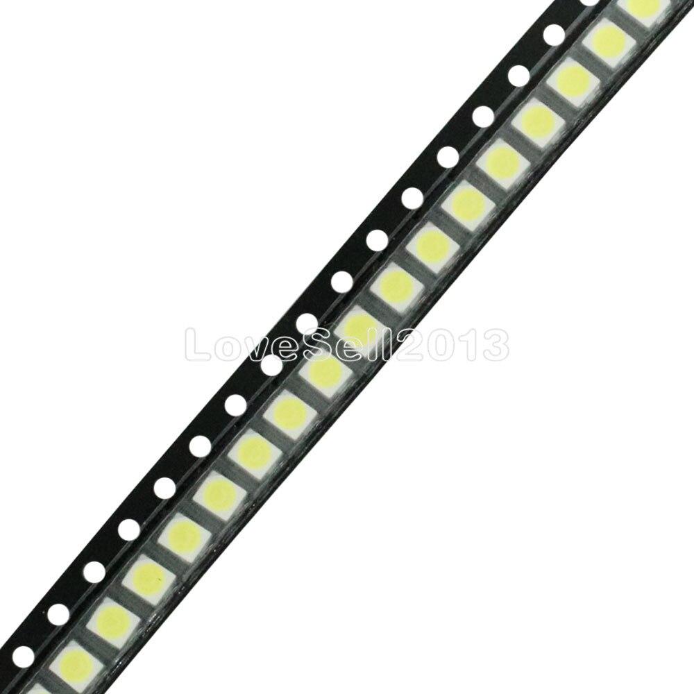 50PCS POWER TOP SMD SMT White PLCC-2 3528 1210 Super Bright Light LED
