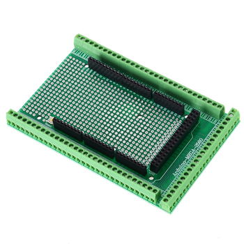 цена на 1 set MEGA-2560 PCB Prototype Screw Terminal Terminal Block Shield Module Block Shield Board Kit Breakout Board