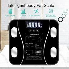 Balança de gordura corporal inteligente escala de gordura de corpo floorbody escalas de imc inteligente sem fio digital balança de peso do banheiro analisador de composição corporal pesar