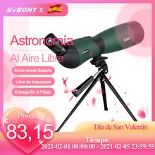 SVBONY luneta SV403 25-75 #215 70 teleskop z powiększeniem w pełni wielowarstwowy obiektyw daleki zasięg polowanie Optisc wielokrotne strzelanie z łuku tanie tanio CN (pochodzenie) 25x-75x 70mm 64ft-43ft 4 8 2 8mm-0 9mm 16mm-14mm IPX4 7pcs 5groups Fully Multi Coated Fold Down