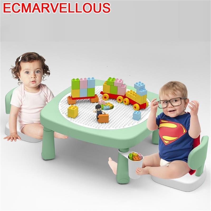Kindertisch Baby Cocuk Masasi Kids Chair And De Plastico Game Kindergarten Mesa Infantil Study Bureau Enfant Children Table