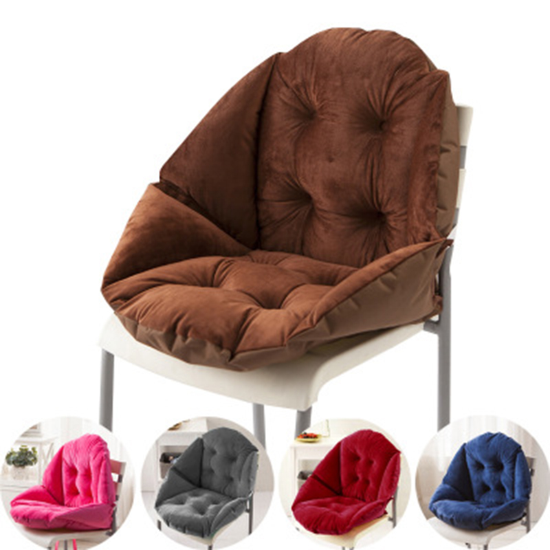 Office Cushion Student  Chair Cushion Thick Non-slip Cushions Breathable Four Seasons Available Beautiful Dropping Shopping