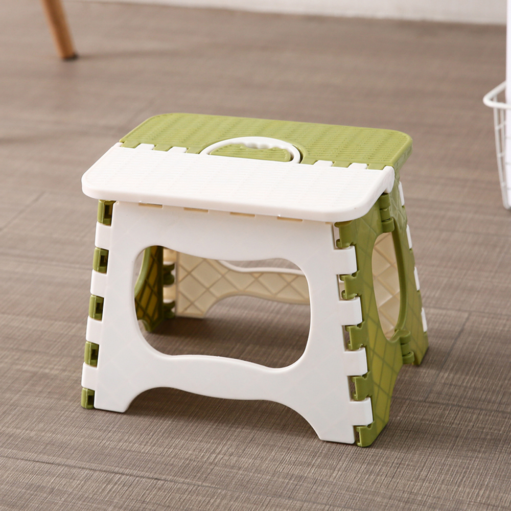 New Plastic Folding Step Stool Portable Folding Chair Small Bench For Children Bathroom Home Use Mini Outdoor Camping BBQ Stool