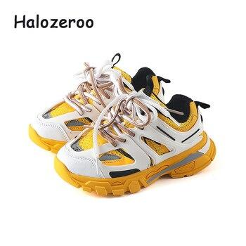 Baskets de Sport d'automne pour enfants   Chaussures de course pour bébés filles, baskets noires de marque pour garçons, nouvelles