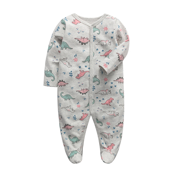 baby girls clothes newborn sleeper infant jumpsuit long sleeve 3 6 9 12 months cotton pajama new born baby boys clothing image