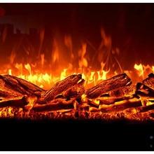 Камин ядро имитация пламени Встроенный электронный камин Ложный огонь декоративный шкаф обогреватель Домашний Электронный камин