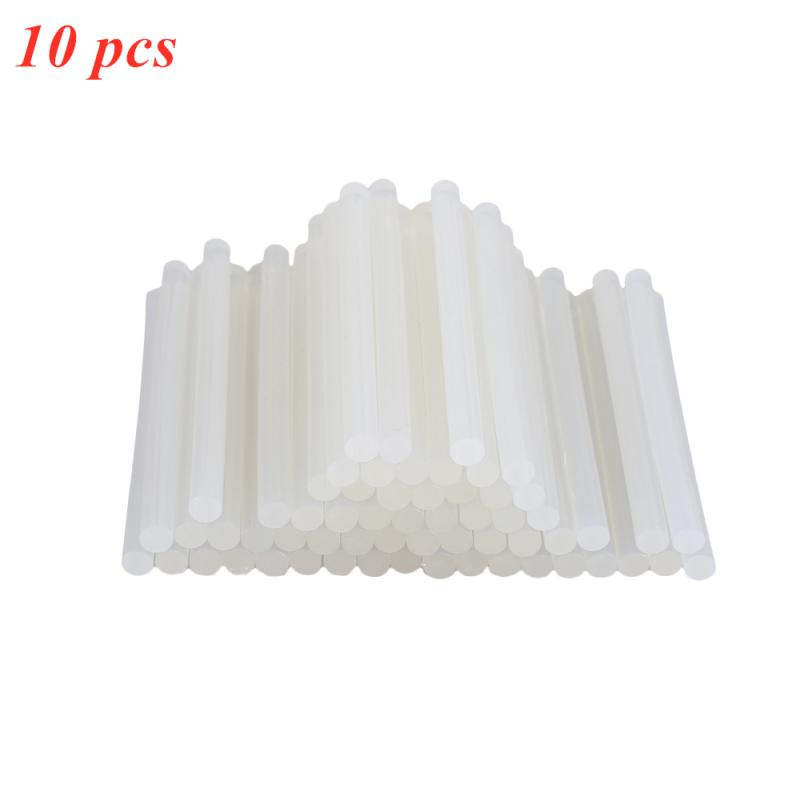 10pcs Transparent Hot Melt Glue Sticks High Viscosity Hot Melt Glue Stick Electric Glue Gun Product Repair Tool Accessories