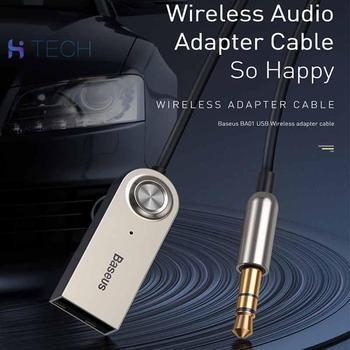 AUX bezprzewodowy samochód odbiornik audio audio adapter przewodu audio kabel Bluetooth adapter USB Bluetooth AUX audio phone tanie i dobre opinie Ucho Monitorowania