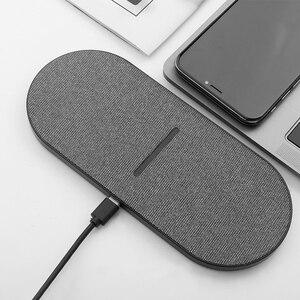 Image 5 - Chargeur sans fil 2 en 1 QI 20W pour Samsung S9 S10 S20 Note 9 charge rapide pour iPhone 11 pro Dual 10W 2 en 1 chargeur