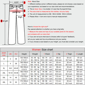 Image 2 - LOMAIYI Plus Size Winter Warm Pants For Women Korean Sweatpants Womens Trousers Female Black Soft Fleece Cotton Pants BW032