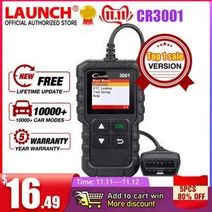 Image 1 - LAUNCH X431 CR3001 OBD2 Scanner Support Full OBD II/EOBD Launch Creader 3001 Auto Scanner diagnostic PK CR319 ELM327 V1.5 v2.1