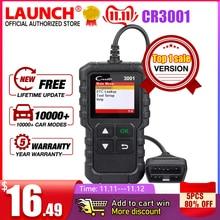 LAUNCH escáner X431 CR3001 OBD2 compatible con Launch Creader 3001 completo OBD II/EOBD, PK CR319 ELM327 V1.5 v2.1