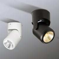 Venta 360 grados ajustable 7W 15W LED luz empotrada montada en la superficie COB luces LED de techo Downlight