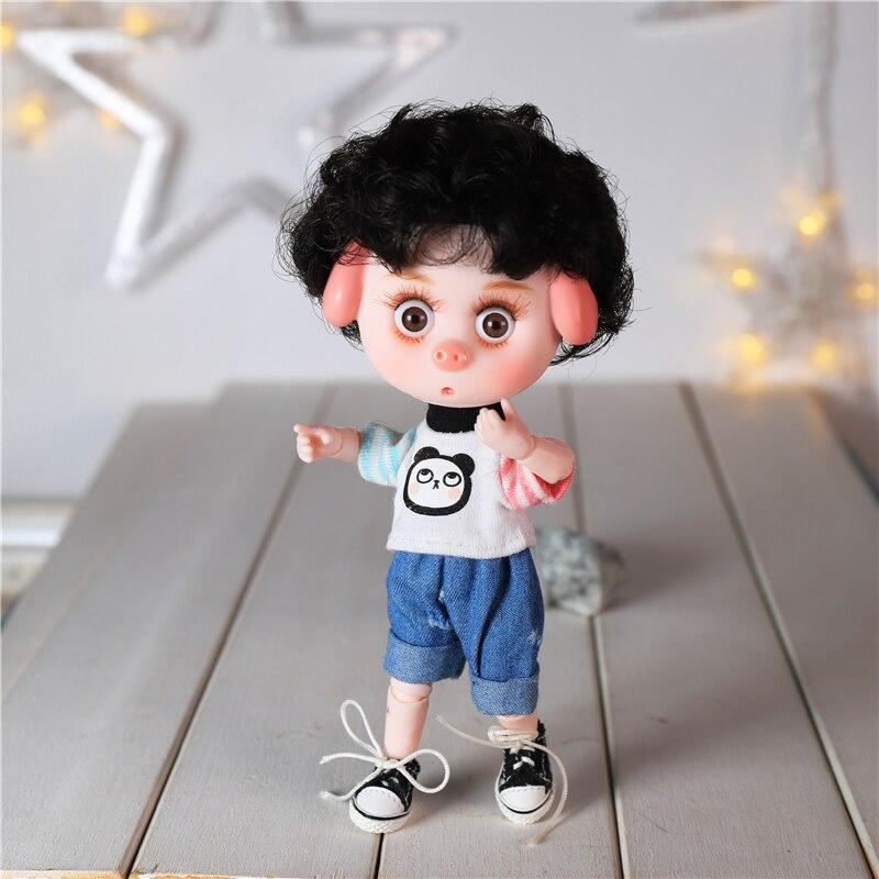 DBS Dream Fairy 1/12 BJD DODO doll 15cm doll toy ob11 mini doll with clothes shoes 12
