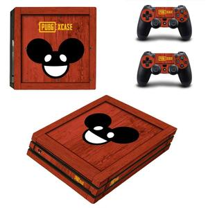 Image 3 - Game PUBG PS4 Pro Sticker Play station 4 Skin Sticker Decals For PlayStation 4 PS4 Pro Console & Controller Skins Vinyl